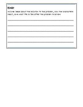 Editable Plot and Sequence Graphic Organizer
