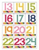 Editable Pocket Chart Calendar with Canadian and American