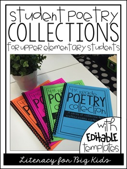 Editable Poetry Book (Folder Covers & Poem Templates)