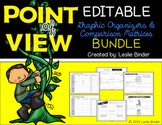 Point of View Graphic Organizers & Comparison Matrices-{BUNDLE}