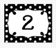 Editable Polka Dot Blank Multipurpose Tags Classroom Label