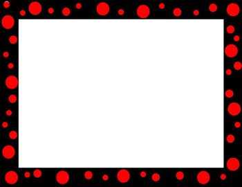 Editable Polka Dot Borders FREEBIE for your Powerpoints
