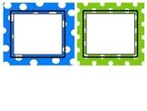 Editable Polka Dot Classroom Labels
