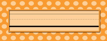 Editable Polka Dot Labels, Frames, and Covers