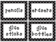 Editable Polka Dot Supply Labels