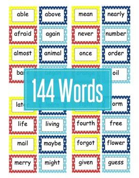 Editable Polka Dot Word Wall For Grade 3