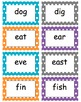 Editable Polka Dot Word Wall For K - Grade 1