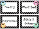Editable Polka Dot and Owl Library Labels