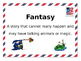 Editable: Postage themed Library Genres