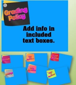 Editable PowerPoint Presentation {Colorful}