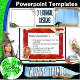 Editable Powerpoint Templates | Wizard and Magic Theme | Editable PPT