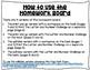 Editable Pre-K April Homework Board