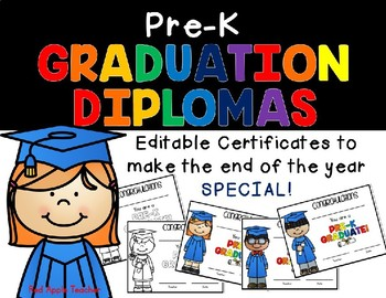 graphic relating to Pre Kindergarten Diploma Printable titled Editable Prekindergarten Degree Worksheets Coaching