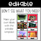 Editable Classroom Labels - Real Life Photos