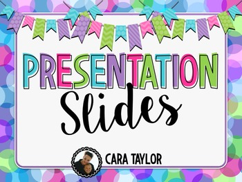 Editable Presentation Slides