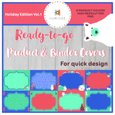 Editable Product & Binder Covers - Holiday Edition Vol.1 {