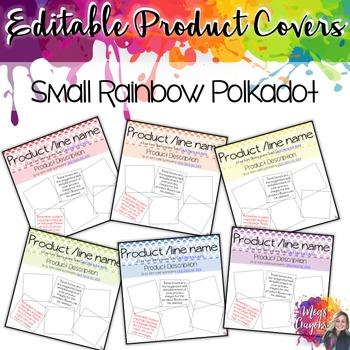 Editable Product Covers-Small Polka Dot
