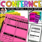 Parent Conference | Progress Reports (Editable)