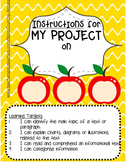 Editable Project Instruction Booklet