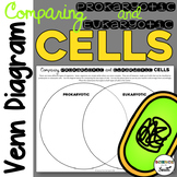Prokaryotic and Eukaryotic Cells Venn Diagram Activity