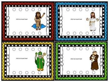 Editable Punch Cards Catholic School Edition
