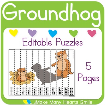Editable Puzzles: Groundhog's Day
