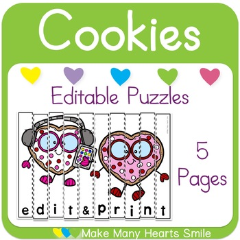 Editable Puzzles: Valentine's Day