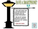 Editable! QR Code Contact Info