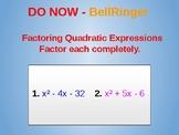 Editable Quadratic Functions Part 2
