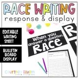Editable RACE Response Sheet