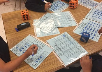 Editable Dice Spelling or Sight Word Center Activity