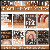 Racial Equality & Social Justice Growth Mindset Posters -