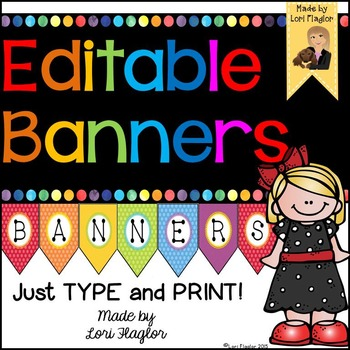 Editable Banners