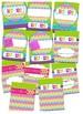 Editable Neon Rainbow Chevron Teacher Binder