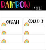 Editable Rainbow Name Labels