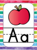 Back to school. Editable Rainbow Theme Class Decor
