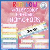 Editable Rainbow Nametags