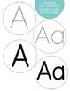 Editable Rainbow Word Wall Cards & Headers