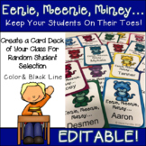 Classroom Management Student Name Call Cards