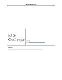 Editable Rate Challenge