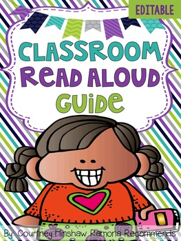 Editable Read Aloud Guide For Elementary