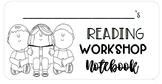 Editable * Reader's Workshop Notebook Labels