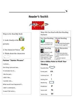 Editable Reader's Tool Kit