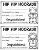 Editable Reading Certificates