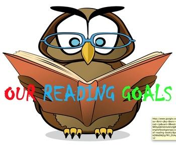 Editable Reading Goals Display