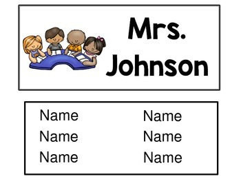Editable Reading Group Cards