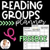 Editable Reading Groups Planner | FREEBIE
