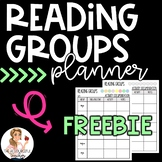 Editable Reading Groups Planner | FREEBIE