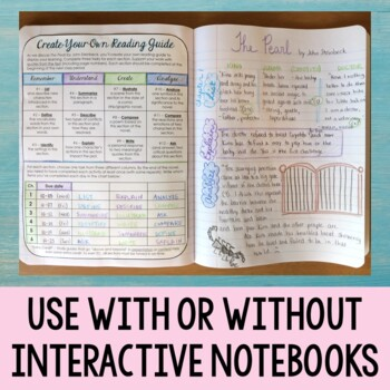 Editable Reading Guide for Class Novels and Independent Reading