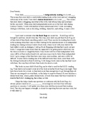 Editable Reading Level and Book Bag Letter Home to Parents